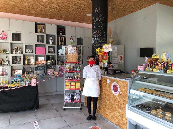 presentacion  A Casiña pastelería