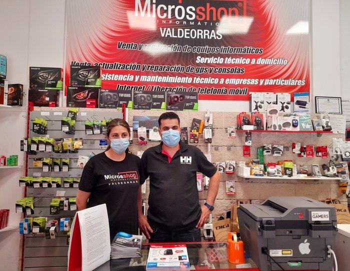 presentacion  Microsshop Informatica Valdeorras