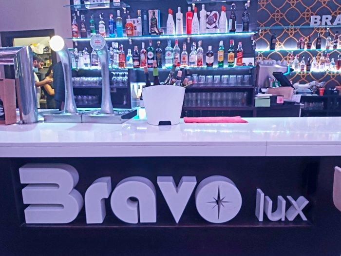 presentacion  Cafetería Bravo Lux