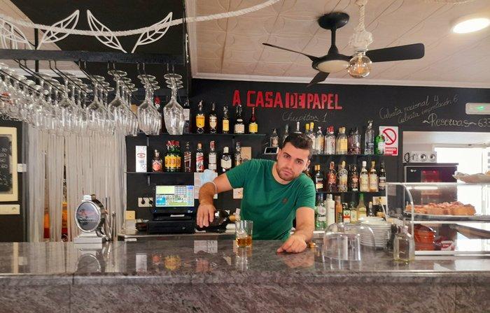 presentacion  Restaurante A Casa de Papel