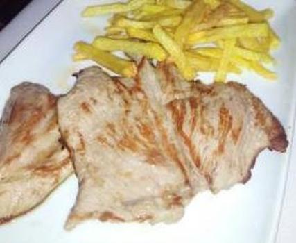 Secreto y patatas fritas