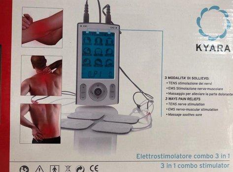 Electroestimulador 3 en 1