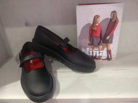 Zapato colegial niña