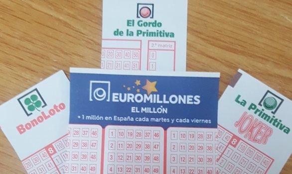 primitiva, bonoloto, euromillones