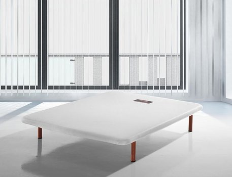 Base tapizada rigida