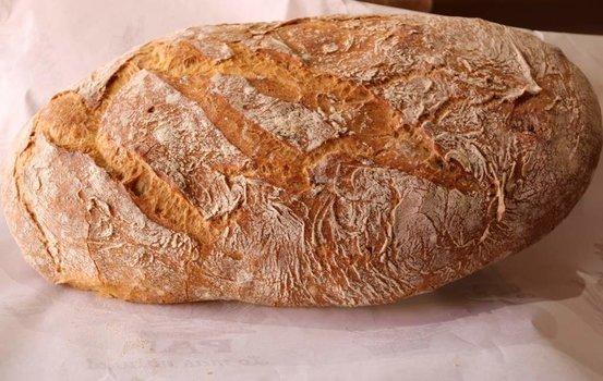 Barra de pan artesana