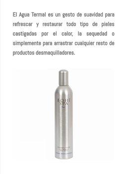 Agua termal 30 ml