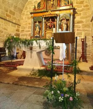 Arreglo de iglesias para ceremonias