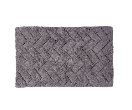 alfombra baño gris