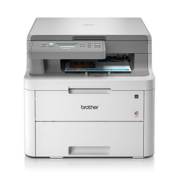 IMPRESORA MULTIFUNCION LASER LED COLOR BROTHER DCPL3510CDW