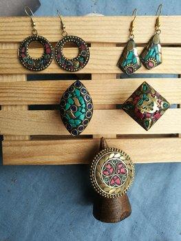 Pendientes-anillos