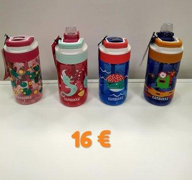 Botellas de material Tritan para llevar el agua al cole