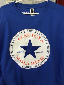 Camiseta logo de Galicia