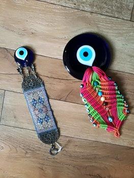 Colgantes ojo turco