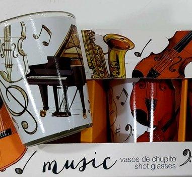 4 Chupitos colección musical
