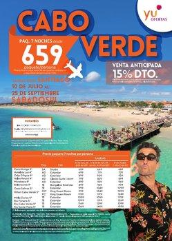 Viaje a Cabo Verde desde Santiago
