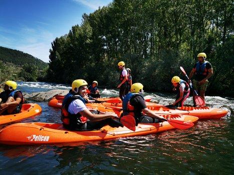 Descenso kayak río sil