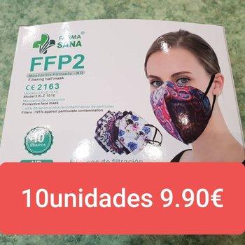 Mascarillas FFP2 estampadas