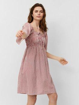Vestido Listas Annabelle Canilla