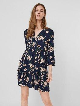Vestido Simply Easy Estampado Flores