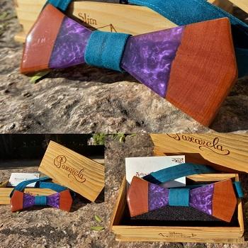 Paxarela de madeira e resina2