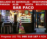 logo Bar Paco