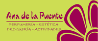 logo Ana de la Puente Perfumería y Estética