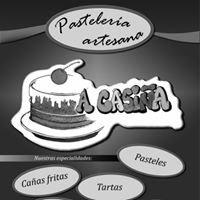 logo A Casiña pastelería